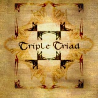 Triple Triad board as seen in-game.