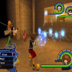 <i>Kingdom Hearts</i>.