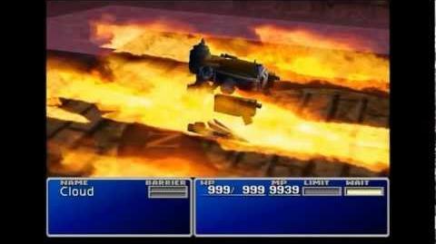 Hellfire - Ifrit summon sequence - FFVII