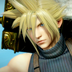 Cloud in the arcade version.