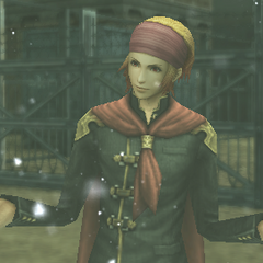 Naghi in-game in his Class Zero uniform.