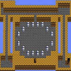 Castle Palamecia's Third Floor (NES).