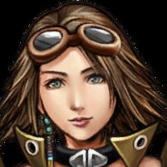Yuna's Alchemist portrait.