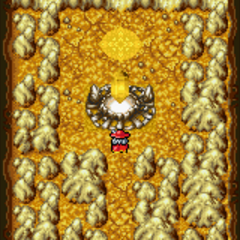 Earth Crystal room (GBA).