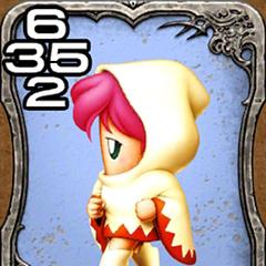 Lenna as a White Mage.