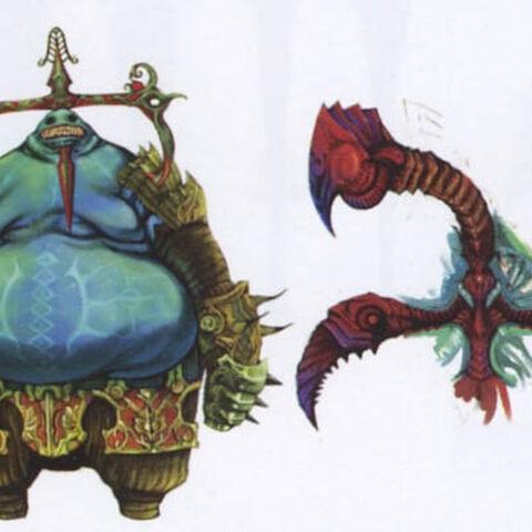 Cúchulainn's concept art.