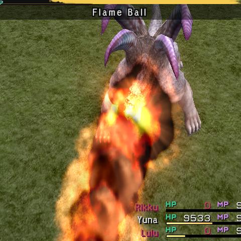 Flame Ball.