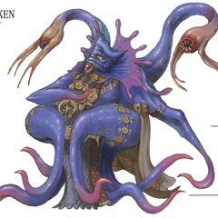 Kraken artwork.