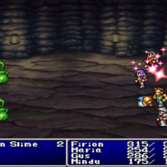 Life cast on the party in <i>Final Fantasy II</i> (PS).