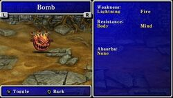 FFII PSP Bomb Bestiary