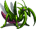 FFBE Killer Mantis Sprite