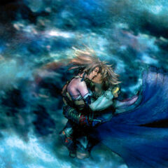 Tidus and Yuna Kiss.