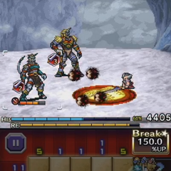 Auron's Banishing Blade.