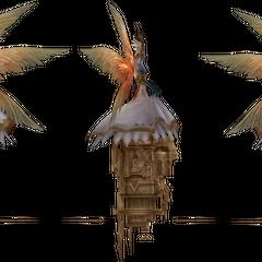 <i>Final Fantasy XII</i> model.