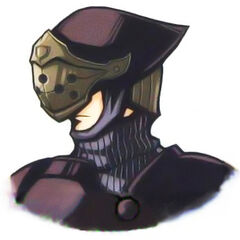 Corrupted SOLDIER in <i>Before Crisis</i>.