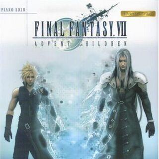 <i>Final Fantasy VII Advent Children Piano Solo Sheet Music</i>.
