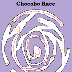 Chocobo racing map (1 chest).