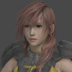 Lightning's in-game render.