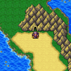 The Antlion's Cave on the World Map (GBA).
