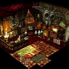 Ghost Hotel shop.