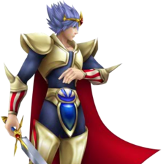 Render of Cecil's SD appearance as a Paladin.