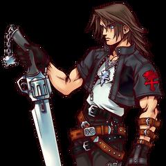 <i>Kingdom Hearts</i> artwork.