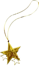 FF7 Star pendant