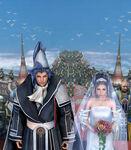 Seymour & Yuna wedding poster