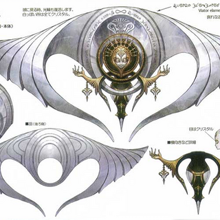 Concept art of Orphan's final form when staggered.