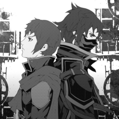 Young Kurasame and adult Kurasame.