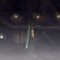 The underground caves in <i>Crisis Core -Final Fantasy VII-</i>.