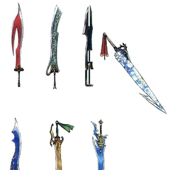 Tidus's Swords.