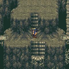 Inside the Esper Caves (GBA).