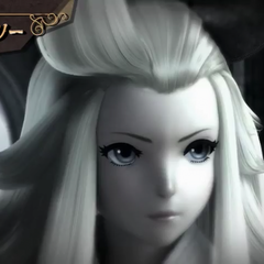 Edea in the FMV opening.
