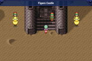 FFVI Figaro Castle entrance iOS