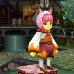 Black Cat Hood in <i>Final Fantasy Crystal Chronicles: Ring of Fates</i>.
