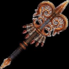 Belias's weapon.