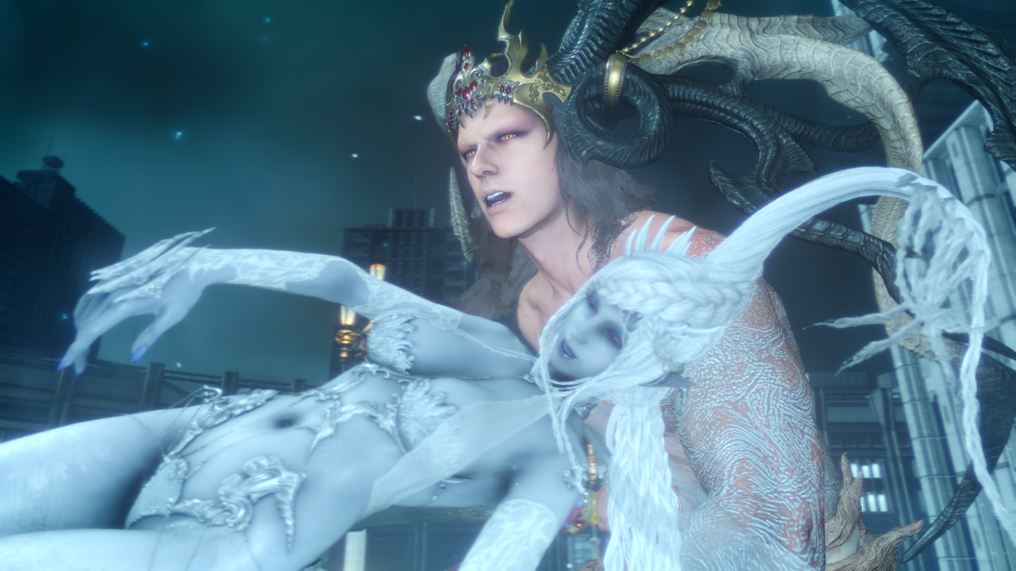 Image - Ifrit-and-Shiva2-FFXV.png | Final Fantasy Wiki ...
