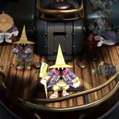 Black mages on Alexandria's fleet.