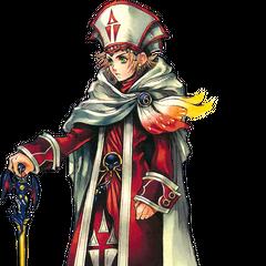 Onion Knight as a Sage in <i><a href=