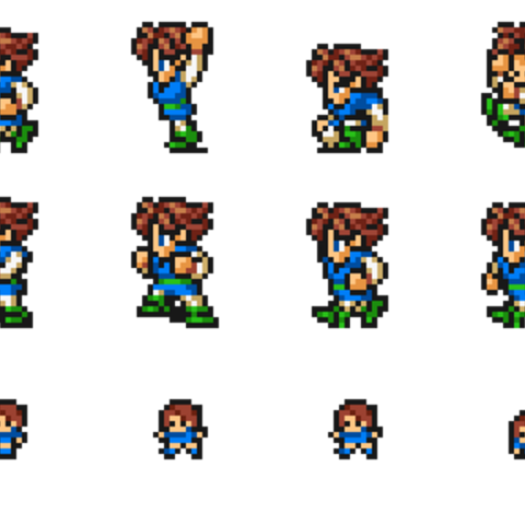 Set of Bartz's Freelancer sprites.