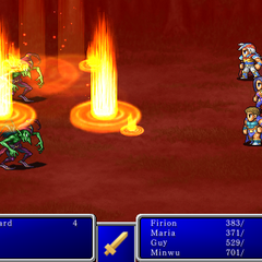 Fire III from <i>Final Fantasy II</i> (iPod).