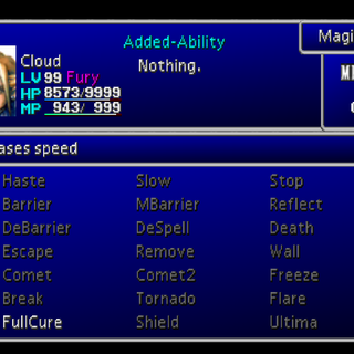 Magic menu.