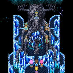 Exdeath's tree sprite in the iOS version.