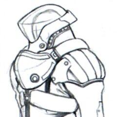 Lunar Base Space Suit.
