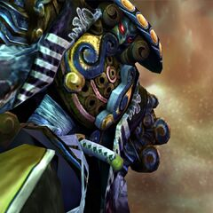 Yojimbo possessed by Yu Yevon.
