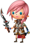 Lightning dans Theatrhythm Final Fantasy