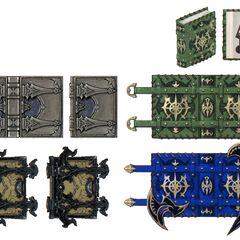 Arcanist's arms.
