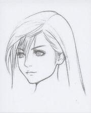AC Tifa's Face Artwork