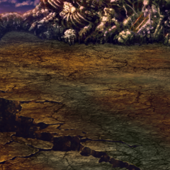 Kefka's Tower battle background in <i><a href=